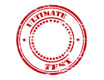 Ultimate test Royalty Free Stock Photography