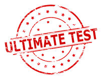 Ultimate test Royalty Free Stock Photo