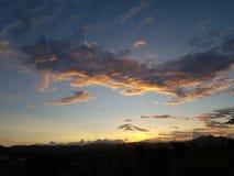Ultime nubi immagine stock