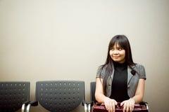 Ultimo cercatore di job nella lista di attesa Immagine Stock