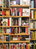 Ultimo cuoco famoso Books For Sale nel deposito di libro delle biblioteche fotografie stock