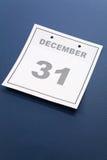 Ultimo giorno dell'anno Immagini Stock Libere da Diritti