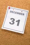 Ultimo giorno dell'anno Immagini Stock
