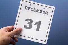 Ultimo giorno dell'anno Fotografie Stock