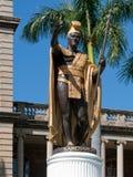 Ultimo re Kamehameha Statue Immagini Stock