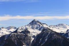 Ultner Hochwart nel Tirolo del sud Fotografia Stock