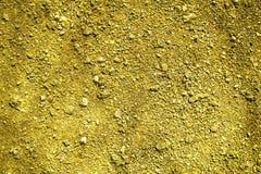 Ultra żółta Zmielona tekstura, piasek powierzchnia, kamienny tło, dobry dla projektów elementów Obrazy Stock