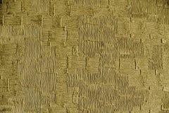 Ultra żółty papier textured nawierzchniowego rocznika tło dobrego dla projekta elementu Obraz Stock