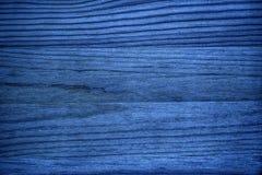 Ultra błękitna Drewniana tekstura, tnącej deski powierzchnia dla projektów elementów Obrazy Royalty Free