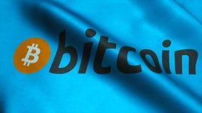 Ultra bandiera d'ondeggiamento di qualità di HD con bitcoin archivi video
