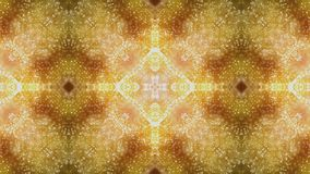 Ultra disco colorée de fond de mouvement de boîte de fond de boîte de kaléidoscope de festival de musique d'étape de mur visuel h banque de vidéos