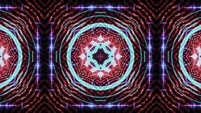 Ultra festiwalu muzykiego kalejdoskopu pude?ka t?a sceny p?tli hipnotycznej pude?kowatej wizualnej ?ciany ruchu t?a kolorowa dysk royalty ilustracja