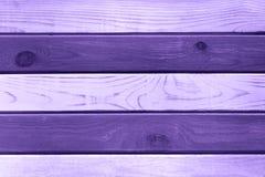 Ultra fond de Violet Wooden photographie stock