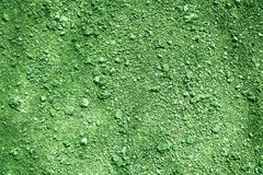 Ultra green Ground texture, sand surface, stone background, good for design element. S Royalty Free Stock Images