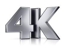 Ultra HD Fernsehikone Lizenzfreies Stockbild