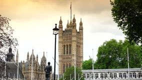 ULTRA HD 4k, real time,London Skyline Elizabeth Tower Clock -Big Ben. London Skyline Elizabeth Tower Clock (Big Ben); Ultra High Definition, UltraHD, Ultra HD stock footage