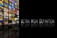 Ultra High Definition Concept Royalty Free Stock Photo