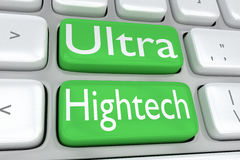 Ultra High-tech concept Stock Foto