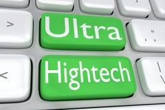 Ultra Hightech concept Stock Photo