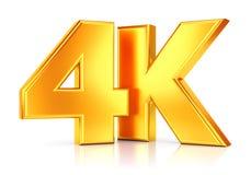 Ultra icône de HD TV Images stock