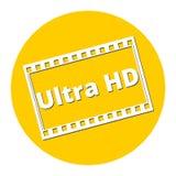 Ultra icona di HD illustrazione vettoriale