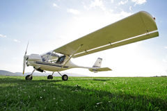 Ultra-light aircraft Royalty Free Stock Photo
