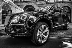 Ultra luksusowy skrzyżowanie SUV Bentley Bentayga, 2016 Zdjęcia Stock