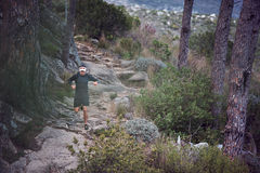 Ultra marathon man Stock Images