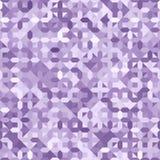 Ultra modello senza cuciture degli zecchini porpora di Violet Ombre Geometric Background Pastel illustrazione vettoriale