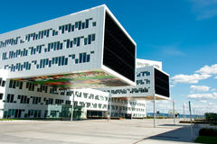 Ultra modern office building Royalty Free Stock Photography