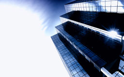 Ultra modern skyscraper Stock Photos