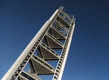 Ultra modern tower Stock Images