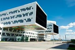 Ultra modernes Bürogebäude Lizenzfreie Stockfotografie
