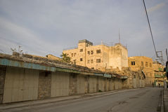 Ultra-orthodox Jewish quarter, Hebron, Palestine Royalty Free Stock Image