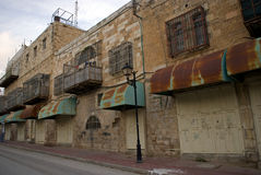 Ultra-orthodox Jewish quarter, Hebron, Palestine Stock Photography