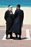 Ultra-Orthodox Jews Royalty Free Stock Photos