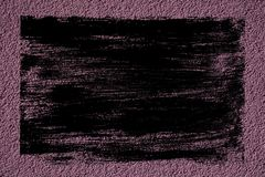 Ultra purpere Concrete het cementachtergrond van de textuur grunge muur of steen ruwe oppervlakte Stock Foto