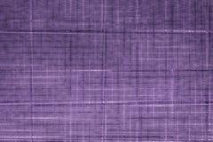 Ultra purpurfärgad provkartatextil, kornig yttersida för tyg för bokomslag, linnedesignbeståndsdel, grungetextur Royaltyfria Bilder