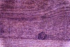 Ultra purpurowego Grunge Drewniana tekstura, tnącej deski powierzchnia dla projektów elementów Obrazy Stock