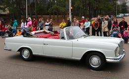 Ultra Rzadki Antykwarski Mercedez Benz kabrioletu samochód Obrazy Royalty Free