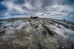Ultra szerocy kątów seascapes Tajlandia Zdjęcia Royalty Free