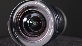 Ultra Szeroki kąt kamery obiektyw w studiu zbiory