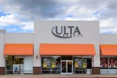 Ultra tienda al por menor de la belleza Imagen de archivo