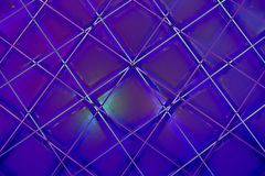 Ultra Violet Abstract Geometric Pattern royalty illustrazione gratis