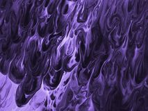 Ultra Violet background with wave. Color of the year 2018. Royalty Free Stock Photography