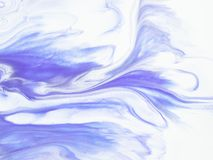 Ultra Violet abstract hand painted background, texture painting. Ultra Violet abstract hand painted background, close-up of acrylic painting on canvas Stock Image