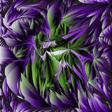 Ultra violet background leaves. Ultra violet background with abstract green leaves. dynamic backdrop for your design vector illustration
