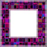 Ultra violet border-10. Abstract ultra violet border. Design element for photo frames. Trendy colors stock illustration