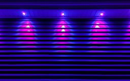 Ultra Violet Building Lighting Stock Photography