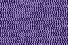 Ultra violet color fabric sample Herringbone,zigzag pattern texture backdrop.Ultra Violet,purple Fabric strip line,Herringbone pat. Tern design,upholstery for royalty free stock image